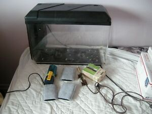 Great STARTER AQUARIUM for someone wanting a new hobby
