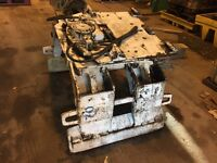 Forklift truck paper clamp