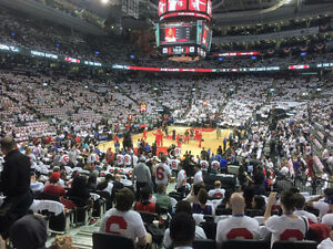 Raptors vs. 76ers - Section 112 (Lowerbowl) - Two Tickets!!