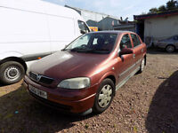 2001 51 reg Vauxhall Astra 1.6i Club