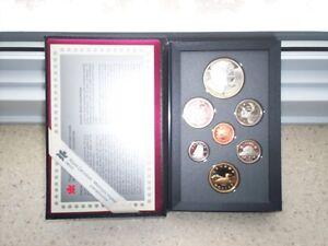 Monnaie : Coffret Épreuve numismatique 1995 - 325e Baie d'Hudson