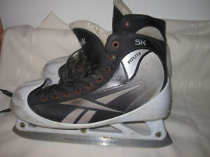 Senior Goalie Skates Size 7, 8½ & 9½ (Three Pairs)
