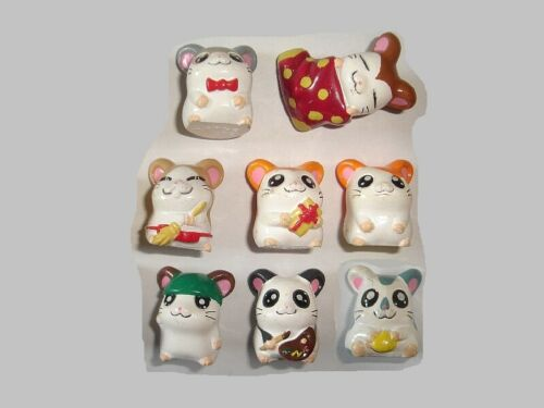 HAMTARO THE HAMSTER FIGURINES SET CARTOON ANIME - FIGURES COLLECTIBLES