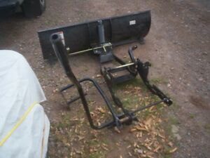 4' plow click and go $400. or best offer