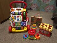 Vtech Baby Walker Fisher Price Shapes Blocks Baby Toys etc