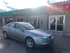 2009 Acura TL PREMIUM Sedan**LOW KMS**NO ACCIDENTS**CERTIFIED**