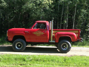 REDUCED!...1979 Dodge Little Red on power wagon chassis
