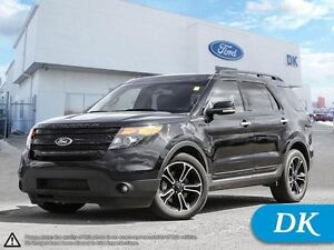 2014 Ford Explorer Sport AWD w/Leather, Moonroof, Navigation!