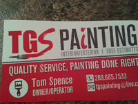 TGS PAINTING AFFORDABLE RATES $ 75 ROOMS FREE ESTIMATES