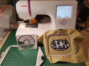 350e Janome Embroidery Machine