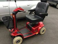 Immaculate pride celebrity 6 mph mobility scooter new batteries fitted can deliver