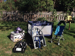 Graco Pack and Play and other items