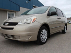 2004 Sienna - Excellent condition + Hitch Package + Safetied!