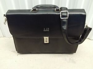 Leather Attache to Carry Laptop, Folders, Files