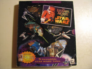 Star Wars Lucas Arts Archives Vol.2 10$!