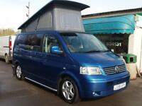 2006 Volkswagen T30 130 TDI Auto Camper Pop Top 2 Berth