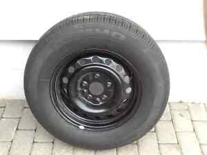 Kumho Kh16 225/70R16 tire and rim. Never used