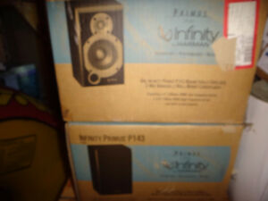 NEW INFINITY BOOKSHELF SPEAKERS