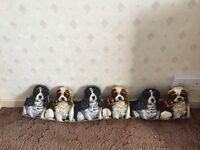 Line of dogs draft excluder