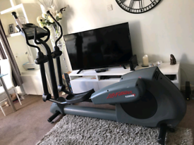 Life fitness 9500HR cross trainer with digital screen