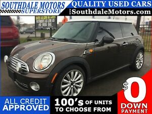 2010 MINI COOPER MAYFAIR * LEATHER * PANORAMIC SUNROOF