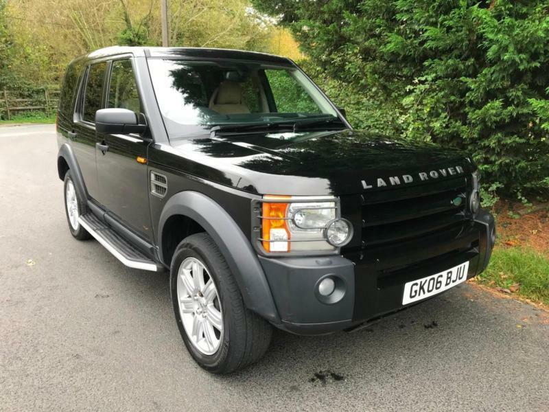 2006 LAND ROVER DISCOVERY 3 2.7 TDV6 S AUTOMATIC 4X4 7 SEATER TURBO DIESEL