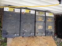 12V CAT Batteries - 153-5720 & 153-5700