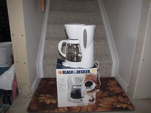 Black and Decker coffee maker - cafetière