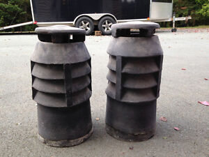 Clay Chimney stacks