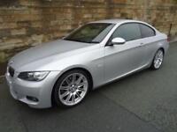 2009 58 BMW 3 SERIES 3.0 325I M SPORT 2D AUTO 215 BHP