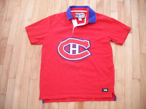 Montreal Canadians short sleeve shirt