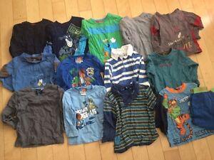 19 morceaux vêtements garçon gars 2 ans chandails long manche