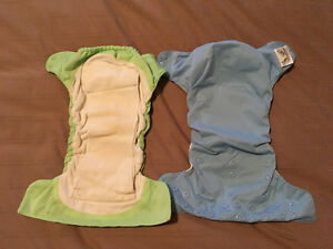 Bum Genius AIO Organic Cotton Diapers Belleville Belleville Area image 1