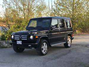 2011 Mercedes-Benz G-Class G550 SUV, Crossover