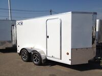 XRCHT35-614-72 Royal Cargo with Barn Door, VNose Front