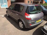 Renault scenic automatic low miles 1 year mot