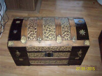 120 year old antique trunk