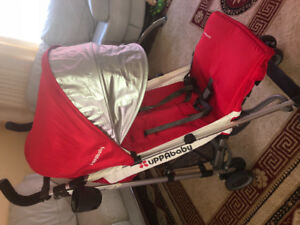 UPPAbaby G-Luxe Umbrella Stroller in Red colour