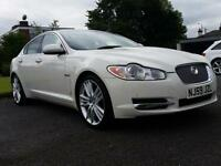 Jaguar XF 3.0TD V6 auto 240 Portfolio white 59 reg *6 months warranty*finance