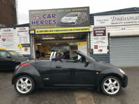 2005 FORD KA STREETKA CONVERTIBLE 1.6 WINTER EDITION 90(AA)WARRANTY INCLUDED