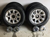 F350 rims and tires