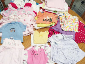 Girls 30pc  lot of Baby Clothes 3 - 6 months 6 - 9 months