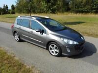 2008 Peugeot 308 1.6 Hdi, 5 Door, Drive Away Today, SOLD AS SPARES OR REPAIRS