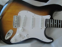 SQUIER AFFINITY- STRAT ELECT GUITAR+AMP PACKAGE BRAND NEW $250