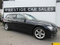 2013 BMW 3 Series 2.0 320d SE Touring xDrive (s/s) 5dr Diesel black Automatic