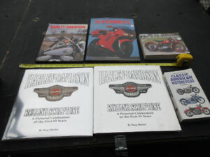 Harley Davidson Motorcycle books & others