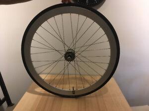 Fixed Track Rear Wheel - HPlus Rim on MICHE Primato hub