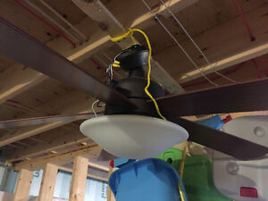 Ceiling Fan and Light with remote
