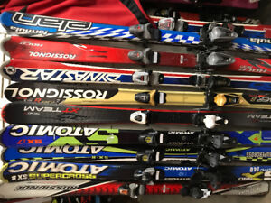 Ski alpin 100 à140cm 60$+ botte jr 25$+