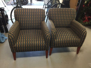 2 Small Sofa Chairs